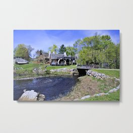 Historic New England Metal Print