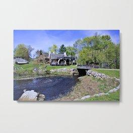 Historic New England Metal Print