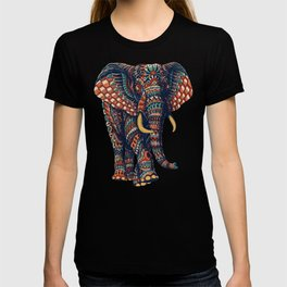 Ornate Elephant v2 (Color Version) T-shirt