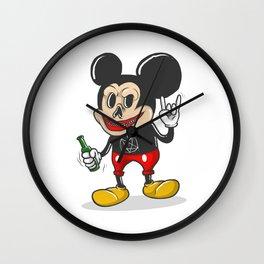 Bad Mickey Wall Clock