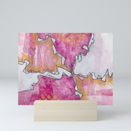 Intuitive - Karla Leigh Wood Mini Art Print