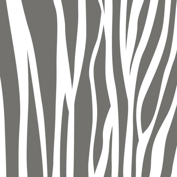 Safari Zebra Print - Grey & White Leggings
