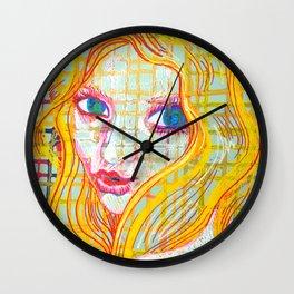 Pop Kiss Wall Clock