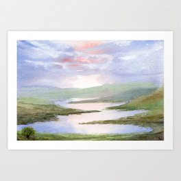 Imaginary Landscape Art Print