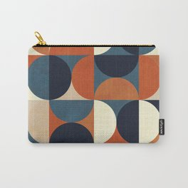 mid century abstract shapes fall winter 1 Carry-All Pouch
