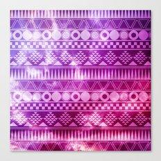 Tribal Fuschia.  Canvas Print