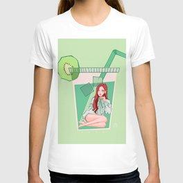 BLACKPINK Kiwi Rosé T-shirt