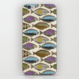 Alaskan halibut pearl iPhone Skin