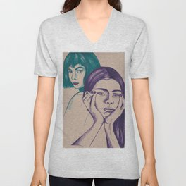 Confliction Unisex V-Neck