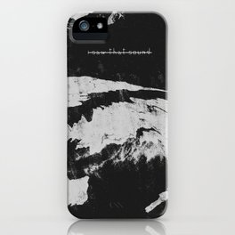 I saw that sound iPhone Case