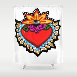 Heart Milagro Shower Curtain