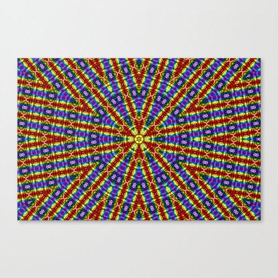 Kaleidoscope Pride Flag Canvas Print