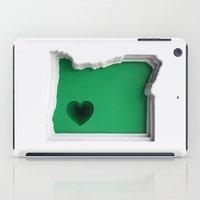 oregon iPad Cases featuring Oregon by Olga Skorokhod
