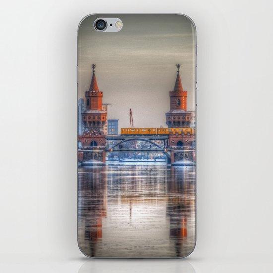 Frozen bridge Berlin iPhone & iPod Skin