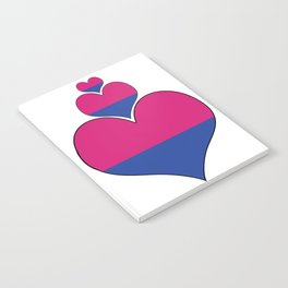 Gender Binary Heart Notebook