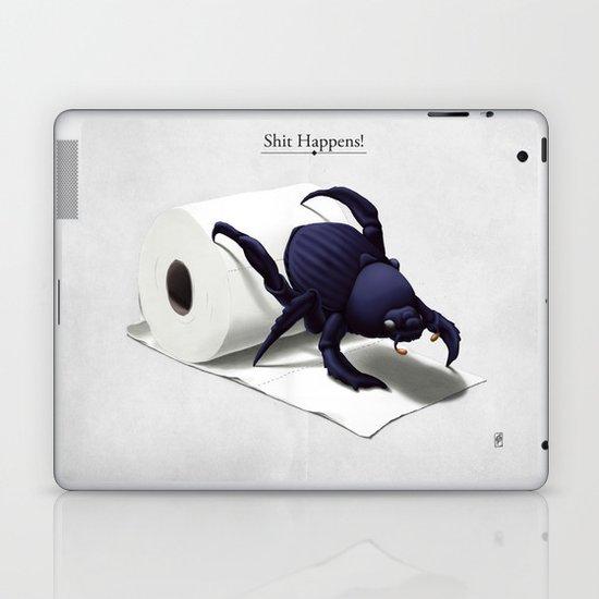 Shit Happens! Laptop & iPad Skin