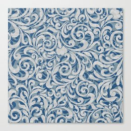 Scroll Pattern Canvas Print