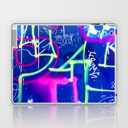 Blue Mood with Pink Language Laptop & iPad Skin