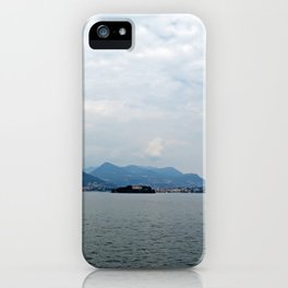 View from Isola Bella iPhone Case