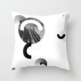 Near yet far Throw Pillow