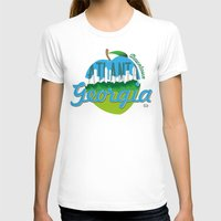 atlanta T-shirts featuring Downtown Atlanta Georgia by Niels Revers Design