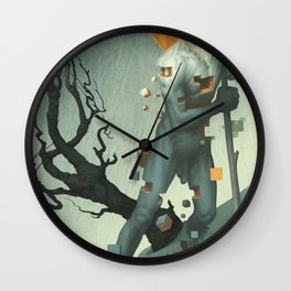Aboard a Dying Construct Wall Clock