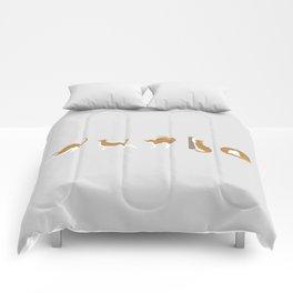 Cat Ballet Comforters