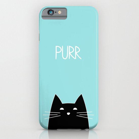 Purr iPhone & iPod Case