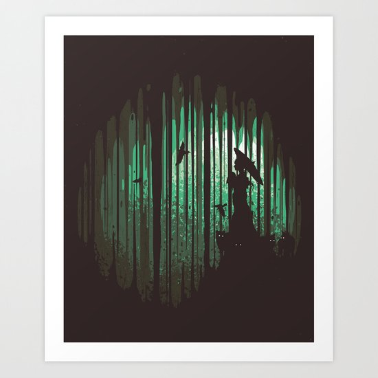 Hidden Place Art Print