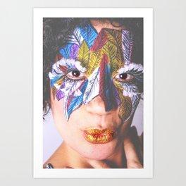Anita Feather V. Art Print