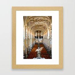 Angel in Hillerod, Frederiksborg castle, Denmark Framed Art Print
