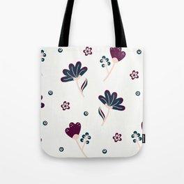FLOWERY PATTERN Tote Bag