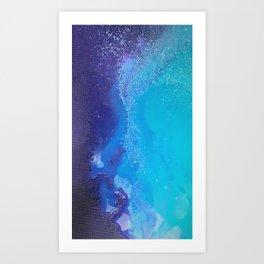 Aqua velva Art Print