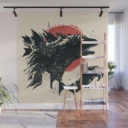 Godzilla Wall Mural