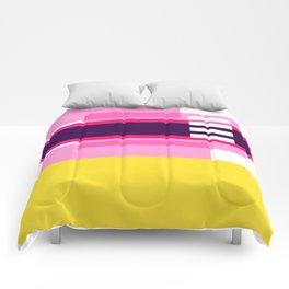 Bright Abstract II Comforters