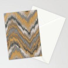 Chevron Zebra Stationery Cards