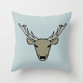 Stag Throw Pillow