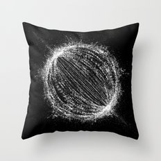 Planetary Explosion Throw Pillow