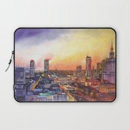 Sunset in Warsaw Laptop Sleeve