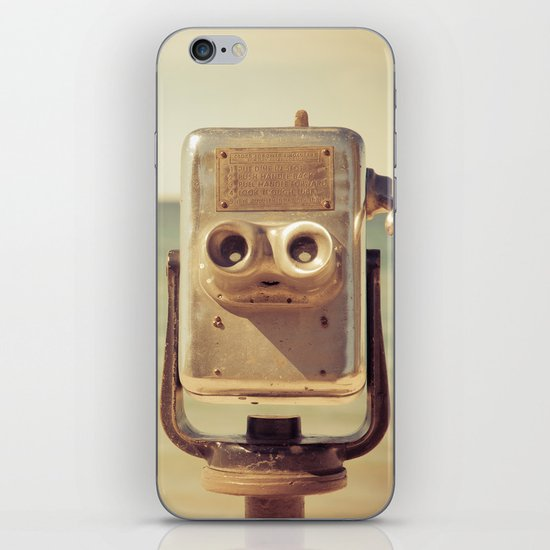 Robot Head iPhone & iPod Skin