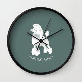 Nothing Fancy Wall Clock