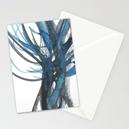 Cerulean Tree Stationery Cards
