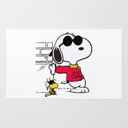 Joe Cool Snoopy Rug