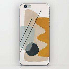 Abstract Shapes No.27 iPhone Skin