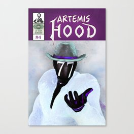 Artemis Hood - Issue 4 Cover Canvas Print