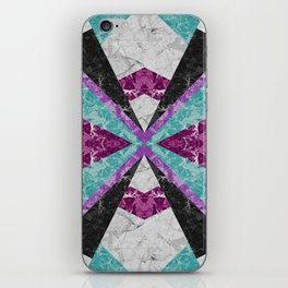 Marble Geometric Background G443 iPhone Skin