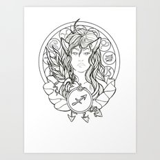 Zodiac Series | Sagittarius Art Print
