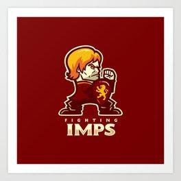 Fightin' Imps Art Print