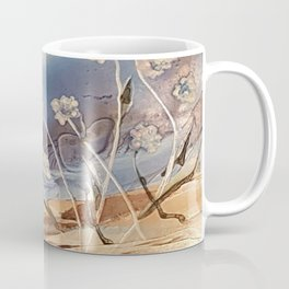 Spring White flowers Coffee Mug