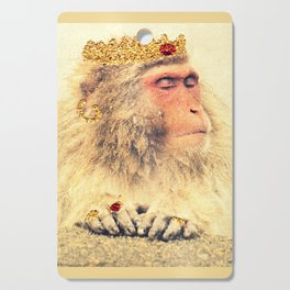 His Majesty, the King! Cutting Board